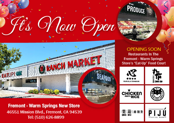 New one-stop grocery shopping and eating destination in East Bay!